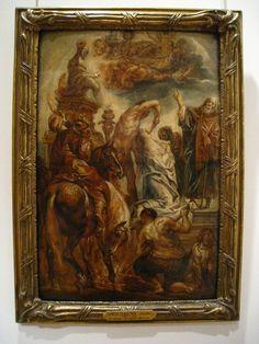 'Le martyre de Sainte Apolline' par Jacob Jordaens, Petit Palais -