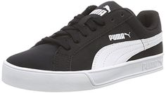 Puma Puma Smash Vulc Unisex-Erwachsene Sneakers, Schwarz (Black-White), 40.5 EU - http://uhr.haus/puma-6/40-5-eu-puma-unisex-erwachsene-smash-vulc-sneakers-2
