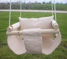 Baby Infant Swing to Toddler Swing - Baby Outdoor Toy Available in Red, Eggshell, or Blue