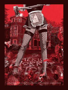 "American Horror Story - Chris Malbon - ''House Keeping'' ---- ""American Horror Story"" art show at Hero Complex Gallery (2015-10) #AHS"