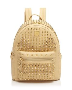 Mcm Backpack - Stark Special Stud Small