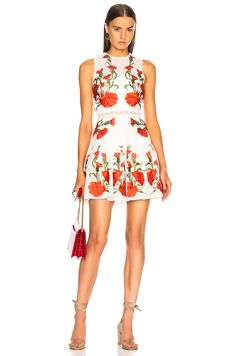 Image 1 of Alexis Sabella Dress in Blossom Embroidery