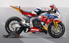 GaazMaster MotorSport - Honda Racing SuperBike
