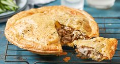 Grandma's chicken and leek pie