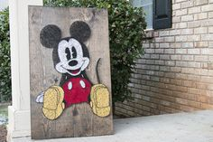 Mickey String Art by GCD