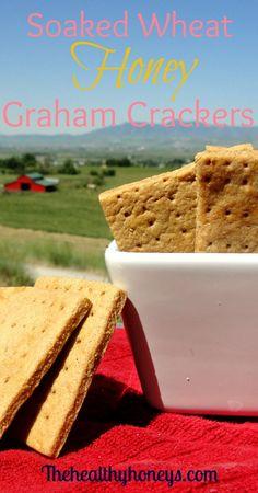 Heres a super easy recipe to make your own honey cinnamon graham soaked honey graham crackers solutioingenieria Choice Image