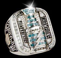 Tampa Bay Lightning stanley cup ring 2004
