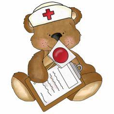 Nurse Bear photo sculptures