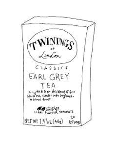 Earl Grey Tea by Kate Bingaman-Burt