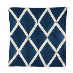 Lattice Diamond Shibori Pattern