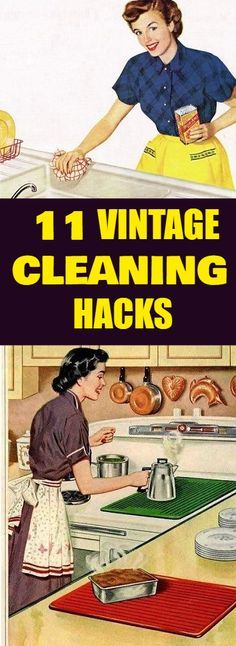 These hacks are a blast from the past. Oldies but goodies! Clean your home with more healthy cleaning methods. These methods will help to expand your life as you will be avoiding the modern toxic chemicals. #vintage #vintagecleaning #cleaninghacks #hacks #cleaning #cleaningtips #hometips #healthycleaning #kitchencleaning #housecleaning #windowcleaning