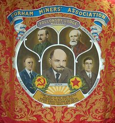 Image result for durham miners gala banners
