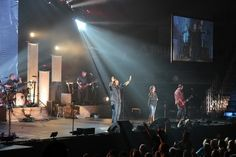 Casting Crowns live in concert.