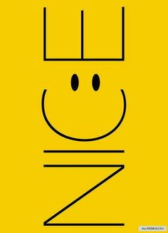 """this reminds me of our """"C"""" smiley face. Logo Typo, Typography, Font Logo, Smileys, Smiley Emoticon, Smiley Faces, Single Words, Shades Of Yellow, Happy Colors"""