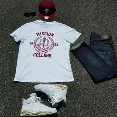 "INSPIRED FROM THE 1988 SPIKE LEE FILM SCHOOL DAZE. MISSION COLLEGE AN INSTITUTION FOUNDED IN 1883 WITH A MISSION TO ""UPLIFT THE RACE."" TEES  AVAILABLE AT http://ift.tt/1cwNr9k USE CODE ""BHM"" FOR 30% OFF #buyblack #spikelee #missioncollege #schooldaze #outfitgrid"