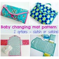 Lots of ideas for sewing for babies and sewing baby shower gifts. All free sewing patterns and tutorials for the cutest and most practical baby essentials