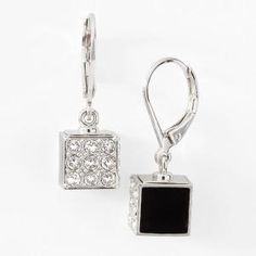 Touchstone Crystal by Swarovski ~ Jewel Box Earrings ~ Order yours: www.touchstonecrystal.com/deannawhirley