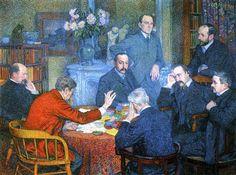The Reading - Theo van Rysselberghe
