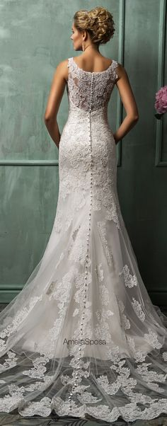 Amelia Sposa 2014 #Wedding #Dresses - Belle the Magazine . The Wedding Blog For The Sophisticated Bride