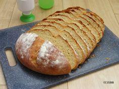 Eenvoudig witbrood, recept, diy, zelf maken, bloem, deeg, kneden, rijzen, oven, bakken, beginners recept, makkelijk, handmade, foolproof, brood, broodjes. Bread, Baking, Food Nutrition, Bread Making, Patisserie, Breads, Backen, Buns, Sweets