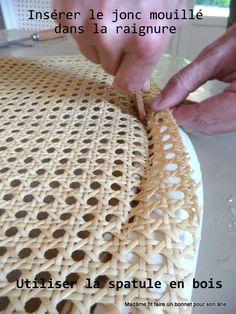 Plus de 1000 id es propos de tapisserie sur pinterest - Achat fourniture pour cannage chaise ...