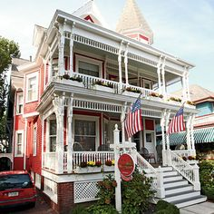 The Virginia Hotel,  Cape May, New Jersey.
