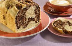 Marmer-Chocoladebrood in de broodbakmachine - Brood - Recepten - Koopmans.com