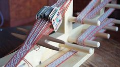 Birka strap, tablet weaving