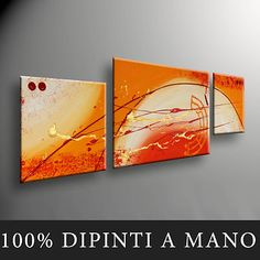QUADRI MODERNI DIPINTI A MANO INTELAIATI E PRONTI DA APPENDERE NUOVO DESIGN | eBay Picture Wall, Picture Frames, Abstract Paintings, Painting Inspiration, Home Projects, Canvas, Drawings, Sweet, Pictures