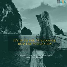 """""""It's Up To You To Discover How Far You Can Go"""" (^_^) Keep Moving Forward :) #FollowUs & #StayTuned for updates \m/ #travel #startups #instatravel #instatravelgram #instatrip #explore #instaquote #motivation #moveforward #life #instatraveler #travelgram #photography #subscribe #quote #business #waters #nature #instaphoto #travelphotography"""