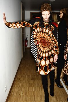 Givenchy AW1617 Backstage. Ph: Sonny Vandevelde.