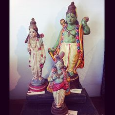 Beautiful Vintage Indian Deity statues circa 1950's  (at Platform)