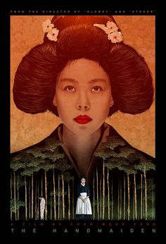 """Movie Poster of the Week: Park Chan-wook's """"The Handmaiden"""" and an Interview with Designer John Calvert on Notebook   MUBI"""