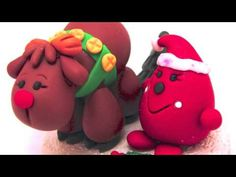 Twelve Days of Christmas Parker Polymer Clay Decorations by KatersAcres on YouTube