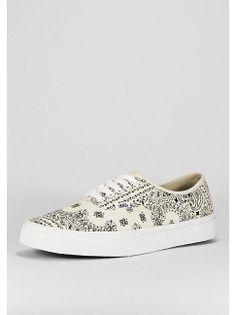 VANS Schuh Authentic Bandana white/t.white Artikelnummer: 1001345