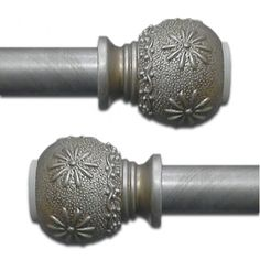 Image result for decorative curtain rods