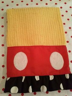 Mickey Mouse Kitchen Dish Towel Set by BetsysBabyBoutique19