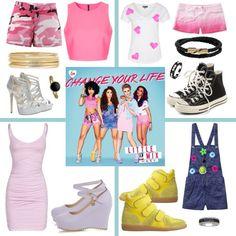 Cheng your life Little Mix Outfits, Polyvore, Life, Image, Fashion, Moda, Fashion Styles, Fashion Illustrations