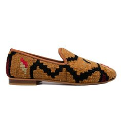 Men's Size 11/11.5 Turkish Kilim Rug Loafer