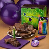 Send a Gourmet Brownie Birthday Celebration!