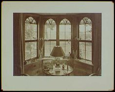 Harvey S Ladew library. Interior design by Elsie Cobb Wilson
