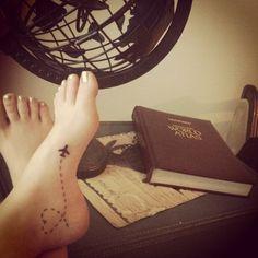 Voor de wereldreizigers: 36 x de mooiste travel tattoo's | NSMBL.nl