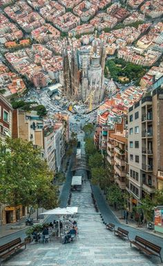 Barcelona Spain meets Inception - Architecture and Urban Living - Modern and Historical Buildings - City Planning - Travel Photography Destinations - Amazing Beautiful Places Places Around The World, Travel Around The World, Places To Travel, Places To See, Travel Destinations, Winter Destinations, Travel Things, Beautiful Vacation Spots, World Beautiful Places