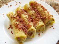 Cannelloni+ripieni+di+patate+con+asiago+e+speck