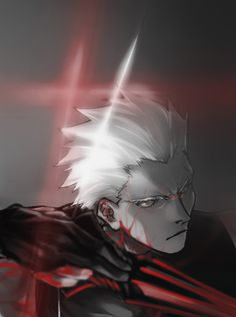 Archer Emiya (Alter) - Fate/Stay Night - Unlimited Blade Works - Heaven's Feel - Fate/Extra - Fate/Extra CCC - Fate/Grand Order