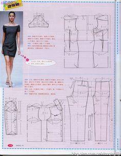 Dress pattern | Progetti da provare | Pinterest | Shanghai, Dress patterns and Patterns