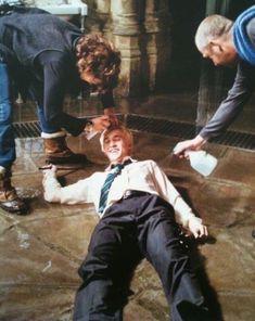 Draco malfoy, harry potter, and tom felton image Draco Harry Potter, Photo Harry Potter, Mundo Harry Potter, Harry Potter Tumblr, Harry Potter Pictures, Harry Potter Characters, Tom Felton Harry Potter, Harry Potter Cosplay, Hogwarts