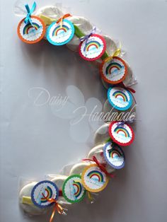 Daisy Handmade Diy Cookie Packaging, Daisy, Beaded Bracelets, Printable, Rainbow, Handmade, Jewelry, Hand Made, Jewellery Making