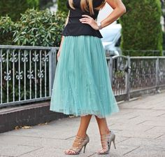Fashion Painted Dreams: Time for Tulle