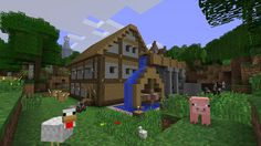 Check out minecraft
